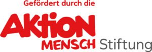 Logo: Gefördert durch die Aktion Mensch Stiftung